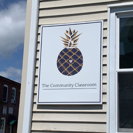 Learn about the community classroom in Florence, Massachyusetts