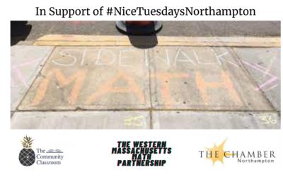 Free Interactive Math Walk in Downtown Northampton